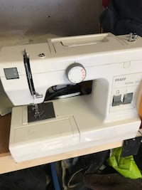 White electric sewing machine Penticton, V2A