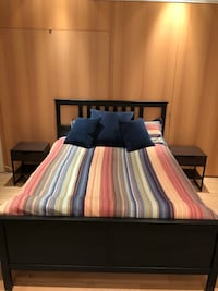 Brand New Full Size bed with two nightstands Babylon