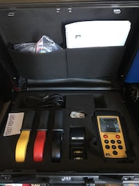 black and yellow power analysis tool set with case Arlington, 76011