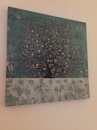 4 x tree canvas art Brampton, L6T 3X8