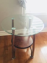 top glass end table St Catharines