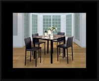 Counter height table with 4 chairs Lanham, 20706