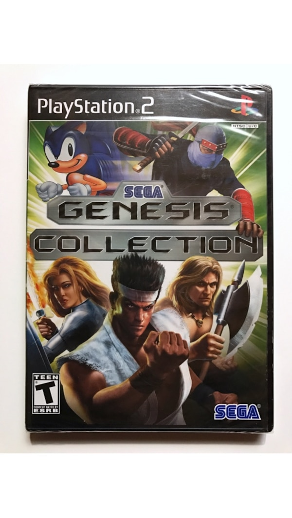 Sony playstation 2 ps2 sega genesis collection new