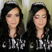 Prom hair and makeup  Aurora