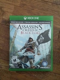 Assassin's Creed 4 Black Flag Xbox One game case Orford, J1X 6Z6