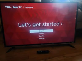 36 inch TCL TV