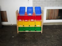 Playroom/Toy Storage with 15 plastic boxes Nepean, Ottawa, ON, Canada