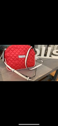 GUESS Quilted Double Zip Crossbody Bag Richmond, V7E 6S2