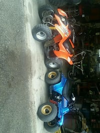 blue and red ATV quad bike Clearfield, 16830