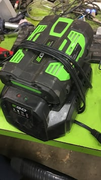 56 v battery and charger for ego yard equipment. Taunton, 02780