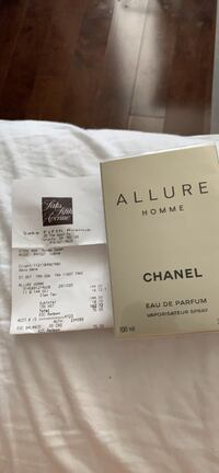 Chanel allure homme edition blanche Mississauga, L5R 3K8