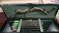 black and brown compound bow set Ashburn, 20147