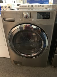 Kenmore front load steam washer and dryer set good condition working good with warranty  Woodbridge, 22192