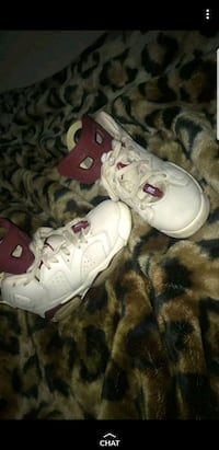 Jordan 6 og retro maroon off white  2288 mi