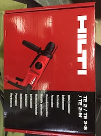 HILTI ROTARY HAMMER DRILL  NEW Condition