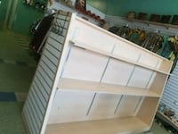 white and brown wooden bed frame Niagara Falls, L2E 4E4