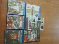 four assorted PS4 game cases Lyman, 29365