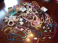 55 pieces of jewelry $18 Central Okanagan