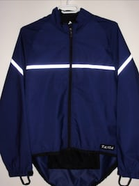 MENS EXTRA LARGE SPORTS CYCLING WEATHER RESISTANT JACKET .