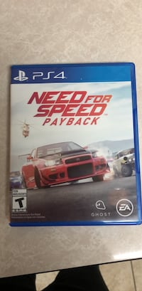Ps4 need for speed payback case Houston, 77031