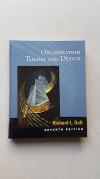 Organization Theory and Design Richard L. Daft Kızılay Mahallesi, 06420