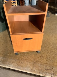 Small drawer and shelf