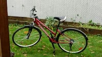 red and black hardtail mountain bike Coquitlam, V3B 7A1