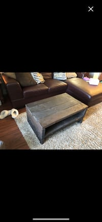 Coffee table made from reclaimed wood Ladner, V4K 3B7