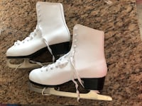 white leather ice skate Vaughan, L4J 0H2