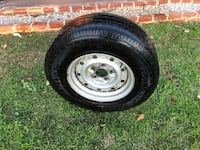 """16"""" rim and tire tires are like 30% good.  Came off.. San Fernando, 91340"""