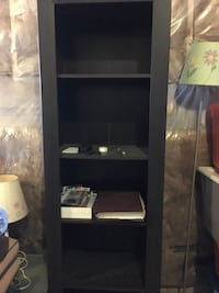 Tv stand bookshelf console and hanging shelf all 150
