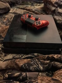 black Sony PS4 with red DualShock 4 Willimantic, 06226