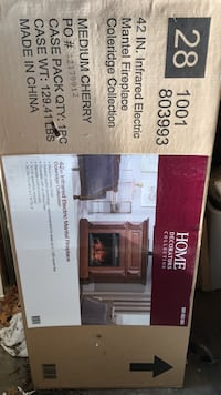 "42"" inframe fireplace. Brand new in box Fairfax, 22030"