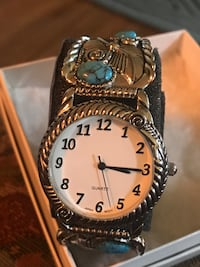 NEW! Watch, faux turquoise, never worn  Spartanburg, 29301