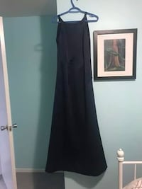 Navy Blue Dress for Prom or Bridesmaid in a wedding