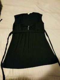 Body Central Black Top with Detail.