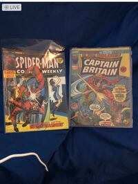 Two UK Comic Books