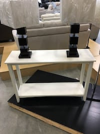 White Console Table (New Staging Clear out) Surrey, V3S 7H9
