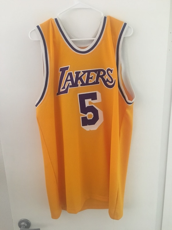 e2649e71b07 Used SIGNED Robert Horry Lakers jersey for sale in San Francisco - letgo