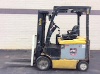 YALE FORKLIFT 2010 5000LBS SIDESHIFTER CHICAGO