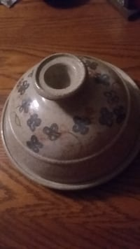 Pottery butter dish Boone