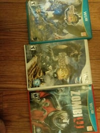 three assorted Xbox 360 game cases Toronto, M6H 1M4