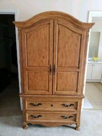 brown wooden cabinet with drawer Montclair, 22025