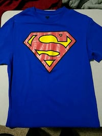 Superman T shirt, unisex size M Fairfax, 22030