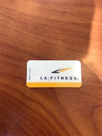 1 year Nationwide LA Fitness membership. Springfield, 19064