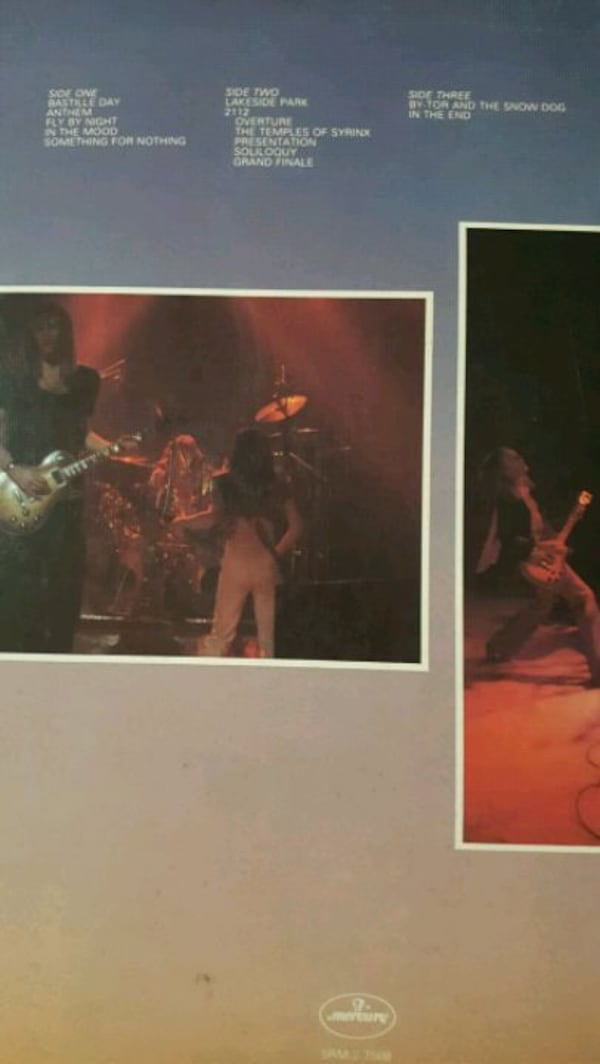 Rush all the world's a stage double live vinyl 40542ad1-eed6-4499-90cd-957b700dd5bb