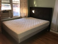 Queen Size Bed with Mattress and Frame Washington