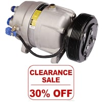 GET READY SUMMER, A/C COMPRESSOR CLEARANCE - CONTACT FOR DETAILS