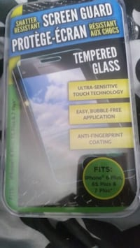 Screen protector for iPhone  Surrey, V3W 5Y1