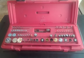 Craftsman Variable Speed Rotary Tool Case Bits